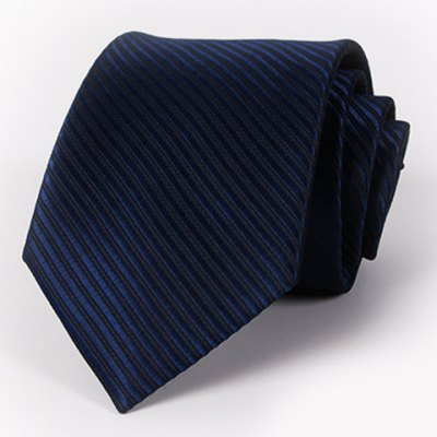 Solid Color Twill Jacquard Tie For Men