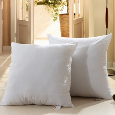 Fashion Solid Color Square Shape PP Pillow Inner (Without Pillowcase)