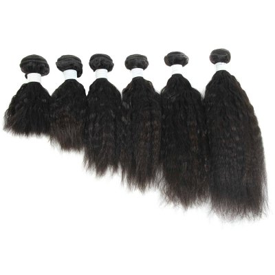 Shaggy Yaki Straight Brazilian Human Hair Fashion Natural Black 1 Piece/Lot Hair Weft For WomenHair Weaves<br>Shaggy Yaki Straight Brazilian Human Hair Fashion Natural Black 1 Piece/Lot Hair Weft For Women<br><br>Can Be Permed: Yes<br>Color: Natural Black<br>Hair Grade: 6A Virgin Hair<br>Hair Quality: Virgin Hair<br>Material: Human Hair<br>Package Contents(pcs): 1pc<br>Source: Brazilian Hair<br>Style: Straight<br>Type: Human Hair Weaves<br>Weight: 0.150kg