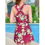 Floral Print Skirted One Piece Swimsuit deal