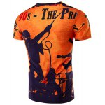 cheap Short Sleeve Orange T Shirt