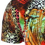 best Round Neck Geometric Abstract 3D Print Pattern Short Sleeve T-Shirt For Men