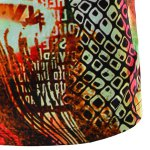 Round Neck Geometric Abstract 3D Print Pattern Short Sleeve T-Shirt For Men photo