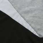 Casual Color Block Long Sleeves T-Shirt For Men photo
