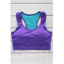 Slimming Racerback Padded Sports Bra