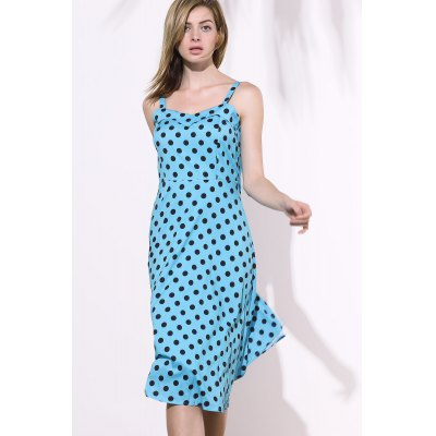Vintage Sweetheart Neckline Sleeveless Polka Dot Dress For WomenSleeveless Dresses<br>Vintage Sweetheart Neckline Sleeveless Polka Dot Dress For Women<br><br>Style: Vintage<br>Material: Cotton Blend,Polyester<br>Silhouette: A-Line<br>Dresses Length: Mid-Calf<br>Neckline: Sweetheart Neck<br>Sleeve Length: Sleeveless<br>Pattern Type: Polka Dot<br>With Belt: No<br>Season: Summer<br>Weight: 0.219kg<br>Package Contents: 1 x Dress