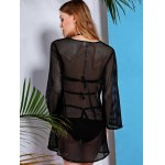 See Through Mesh Swimsuit Club Beach Cover-Up Dress for sale
