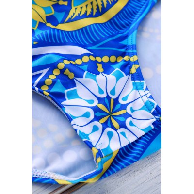 Sports Style Color Block Printed Sexy Men's Swimming Trunks от GearBest.com INT