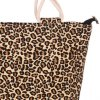 cheap Casual Leopard Print and Canvas Design Tote Bag For Women