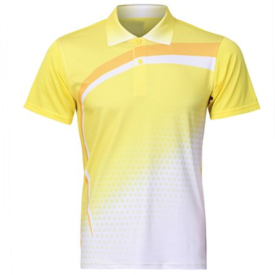 Short Sleeve Yellow T Shirt