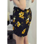 Plus Size High Waisted Floral Print  Culotte Shorts deal
