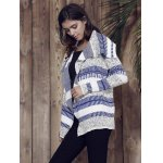 best Stylish Long Sleeve Knitted Irregular Loose-Fitting Women's Cardigan