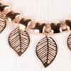 best Chic Leaf Shape Hollow Out Alloy Waist Chain For Women