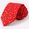 cheap One Set Stylish Multicolor Polka Dots Pattern Tie and Handkerchief For Men