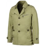 cheap Turn-Down Collar Epaulet Single Breasted Long Sleeve Men's Trench Coat