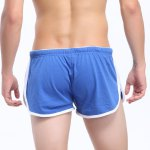 Lace-Up Embroidered Straight Leg Boxer Shorts For Men deal