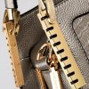 best Fashion Crocodile Print and Metal Design Tote Bag For Women