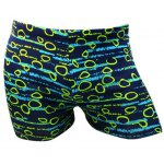 Round Printed Sport Swimming Trunks For Men