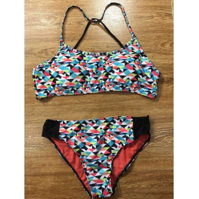 Colorful Geometric Bikini Set