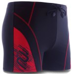 Lace-Up Color Block Splicing Sport Swimming Trunks For Men