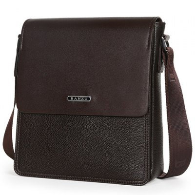 Concise Dark Color and Letter Design Messenger Bag For MenConcise Dark Color and Letter Design Messenger Bag For Men<br><br>Gender: For Men<br>Pattern Type: Solid<br>Closure Type: Zipper<br>Main Material: PU<br>Length: 23CM<br>Width: 8CM<br>Height: 28CM<br>Weight: 0.922kg<br>Package Contents: 1 x Messenger Bag