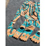 Elephant Print Graphic Tank Top for sale