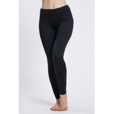 Solid Color High Waist Sport Leggings For Women