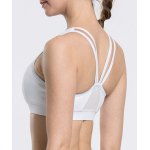 Chic Scoop Neck Hollow Out Solid Color Sports Bra For Women for sale