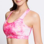 Active Style Printed Padded Sport Bra For Women deal