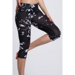 Chic High Waist Printed Sport Leggings For Women deal
