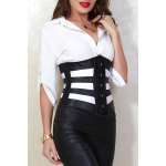 cheap Slimming Hollow Out Corset For Women