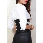 Slimming Hollow Out Corset For Women deal