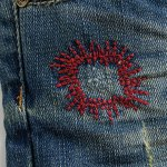 best Stylish Plus Size Zipper Fly Pocket Design Embroidery Shorts For Women