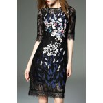 See-Through Embroidered Dress deal