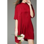 Solid Color Mini T-Shirt Dress deal