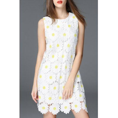 Mini Daisy Pattern Dress