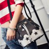 cheap Sweet Color Block and Drawstring Design Crossbody Bag For Women