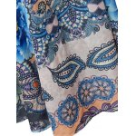 best Bohemian Lantern Sleeve Printed Women's Maxi Dress