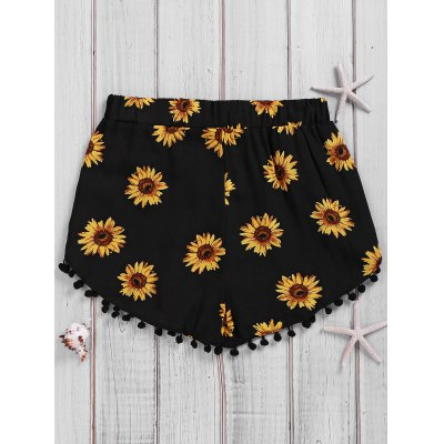 Simple Style Womens Sunflower Print Beach ShortsShorts<br>Simple Style Womens Sunflower Print Beach Shorts<br><br>Style: Streetwear<br>Length: Mini<br>Material: Polyester<br>Fit Type: Regular<br>Waist Type: High<br>Closure Type: Elastic Waist<br>Front Style: Flat<br>Pattern Type: Floral<br>With Belt: No<br>Weight: 0.092kg<br>Package Contents: 1 x Shorts