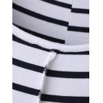 best Casual Round Neck Sleeveless Striped Maxi Dress For Women