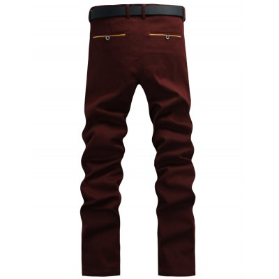 Casual Solid Color Pants For Men от GearBest.com INT