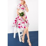 Pleated Floral Dress for sale