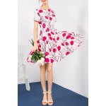 Pleated Floral Dress deal