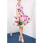 best Pleated Floral Dress