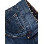 Fashion Straight Legs Men's Cropped Jeans deal
