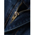 Fashion Straight Legs Men's Cropped Jeans for sale