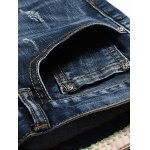 Fashion Zip Fly Straight Legs Men's Cropped Jeans deal