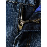 Fashion Zip Fly Straight Legs Men's Cropped Jeans for sale
