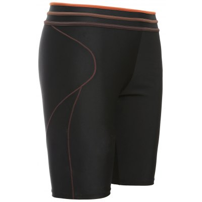 Solid Clolor Mid-Rised Men's Swimming Trunks