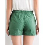 cheap Chic Women's Pure Color Pocket Deign Drawstring Shorts